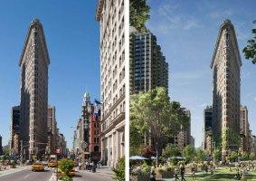 Como ficariam famosas cidades do mundo cheias de plantas