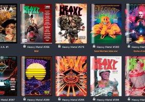 Apenas US$ 1: Humble Bundle da HQ Heavy Metal