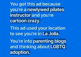 Os anúncios do Signal banidos pelo Instagram e Facebook