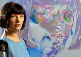 Autorretratos de robôs: Androide cria artes de si mesma usando IA