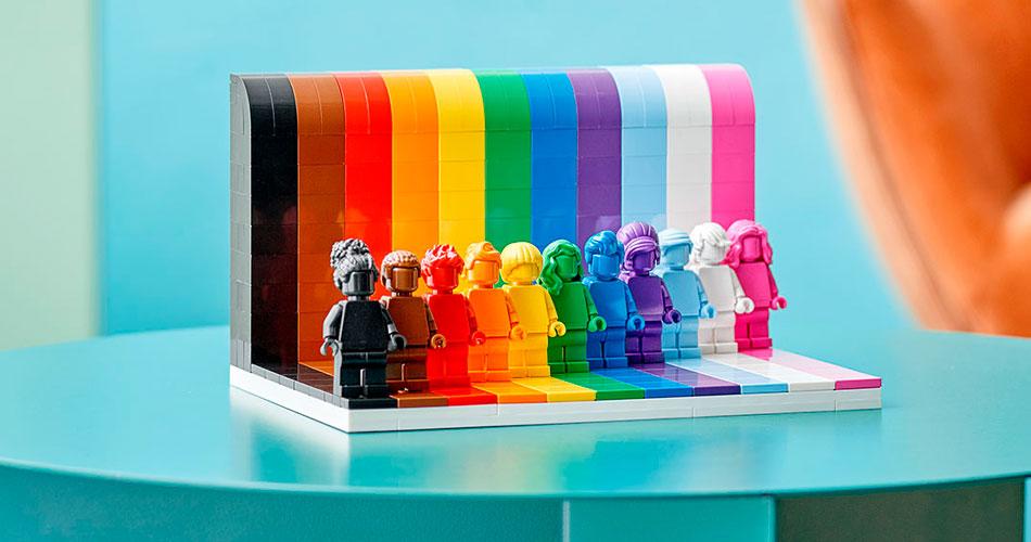 LEGO da Diversidade celebra pessoas de todas orientações e gêneros