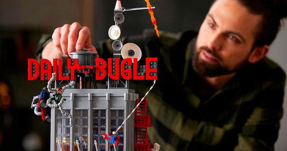 Chegou o LEGO do Clarim Diário, de Homem-Aranha