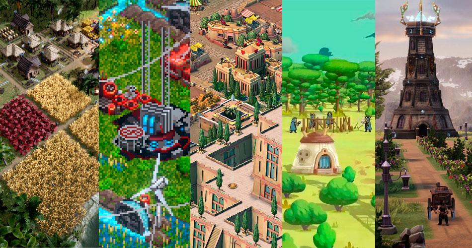 11 Novos Jogos de Construção de Cidades para acompanhar