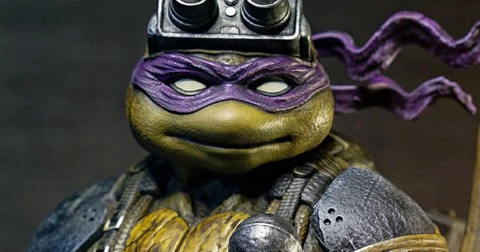 Fã cria estátua do Donatello cheia de detalhes