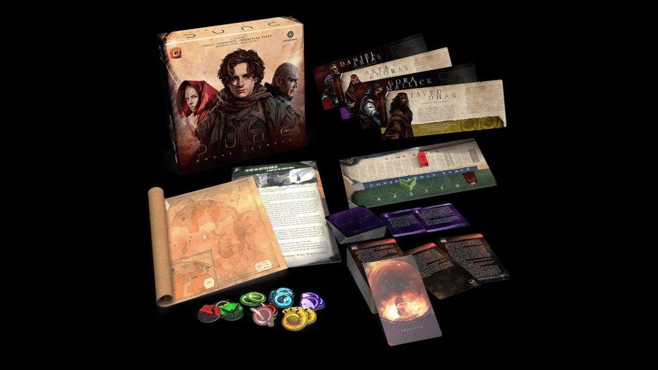 Dune: House Secrets é o novo jogo de tabuleiro de Dune