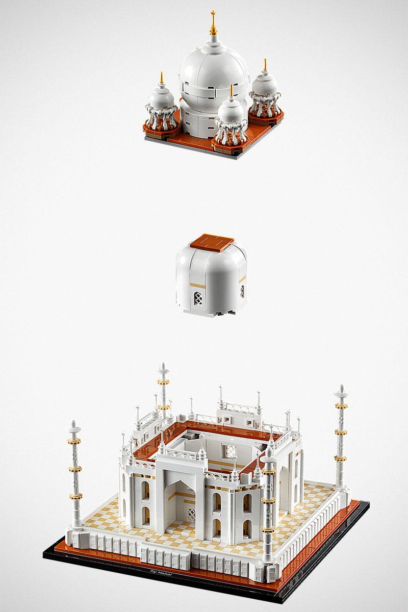 LEGO do Taj Mahal traz detalhes do icônico prédio