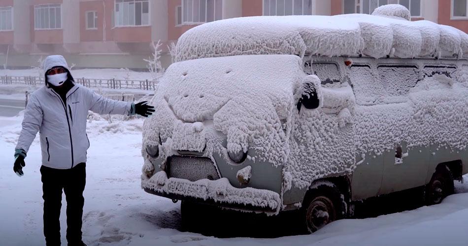 Como é viver na cidade mais fria do mundo