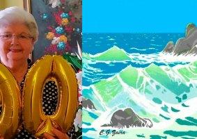 Com 91 anos, Vovó do Paint cria lindas obras no editor da Microsoft