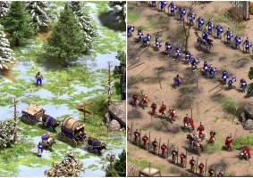 Aldeão tira foto de si mesmo por 100 anos no Age of Empires II