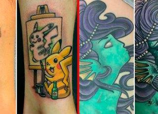 20 coberturas de tatuagens criativas e sensacionais