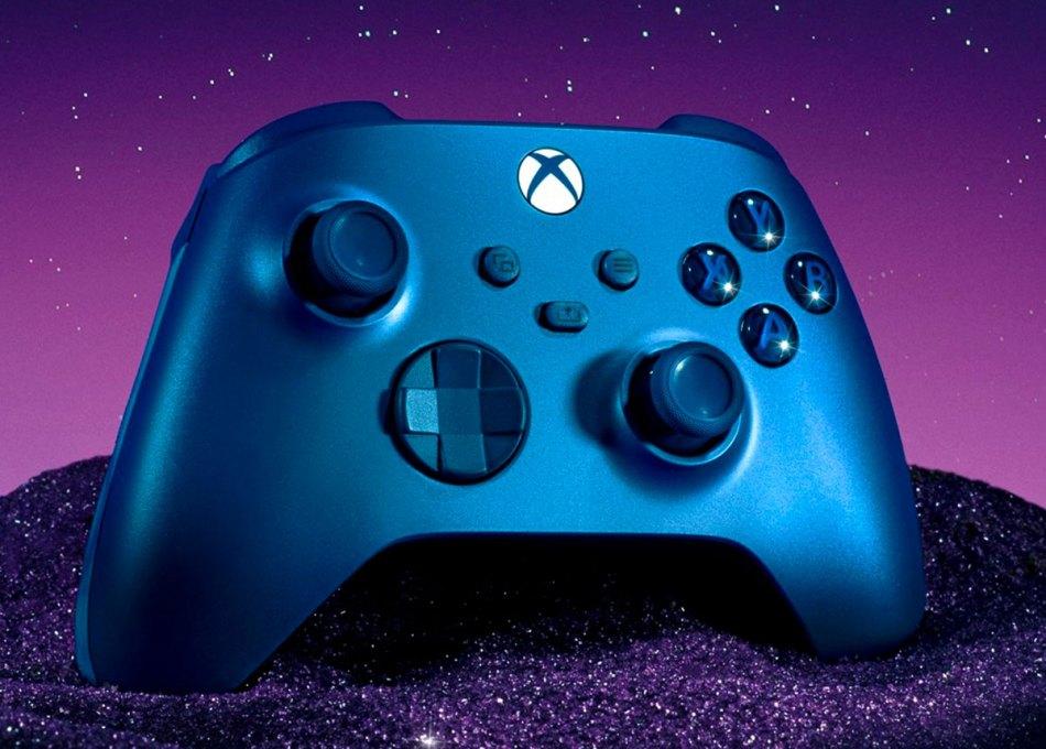 Controle Aqua Shift para Xbox Series traz pegada emborrachada