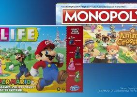 Jogo da Vida do Mario e Monopoly do Animal Crossing são lançados