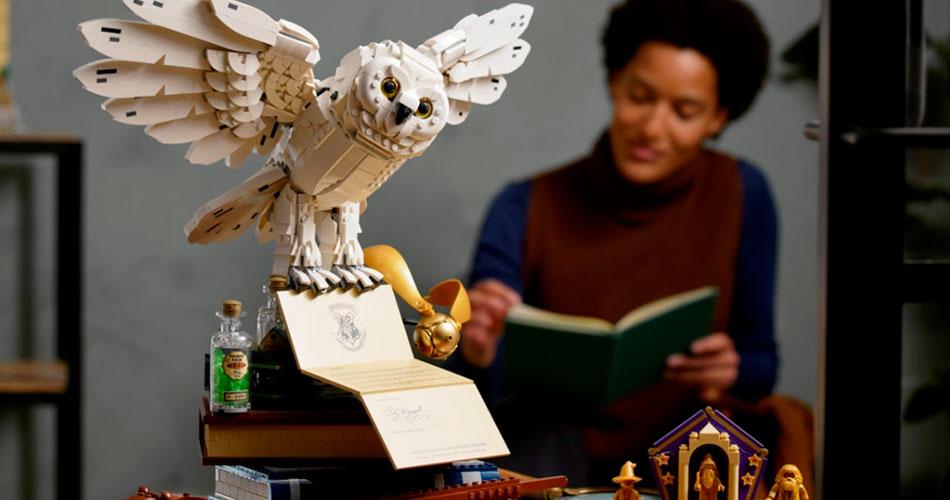LEGO da Edwiges, do Harry Potter, chega na coleção de ícones da franquia