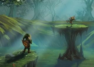 Lost Woods, de Zelda Ocarina of Time, tocada no banjo