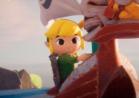 Artista cria animação de Zelda Wind Waker na Unreal Engine