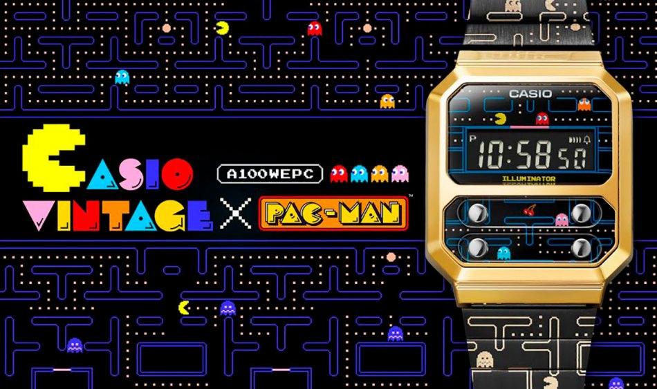 Relógio do Pac-Man é inspirado no clássico Casio Vintage A100