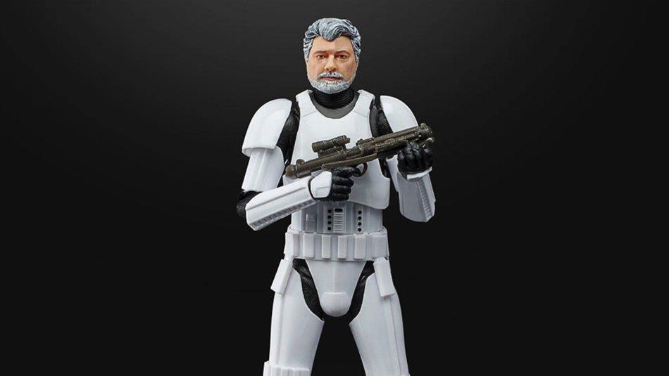 Stormtrooper de George Lucas comemora 50 anos da LucasFilm