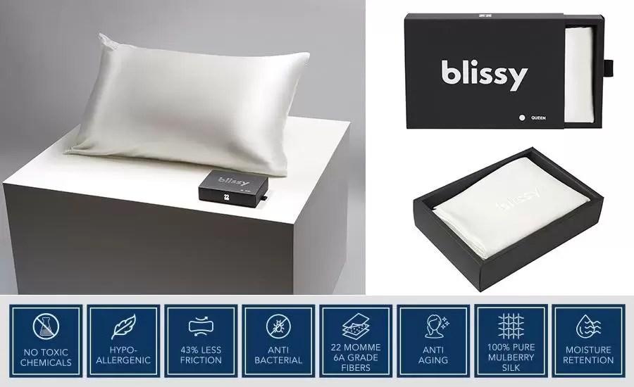 blissy pillowcase reviews best pillow