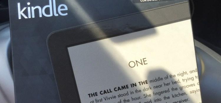 Como o Kindle está me ajudando a ler muito mais…