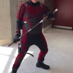 Man in Daredevil costume from the TV show
