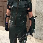man in Green Arrow costume from the CW show