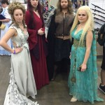 Louisville's own Custom Wig Company in thier Game of Thrones finest