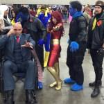 X-men cosplay group