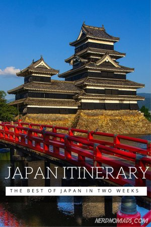 Japan Two Week Itinerary