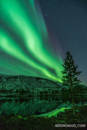 Northern Lights in Kvaenangen, Norway