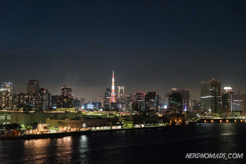 Tokyo Tower in Roppongi