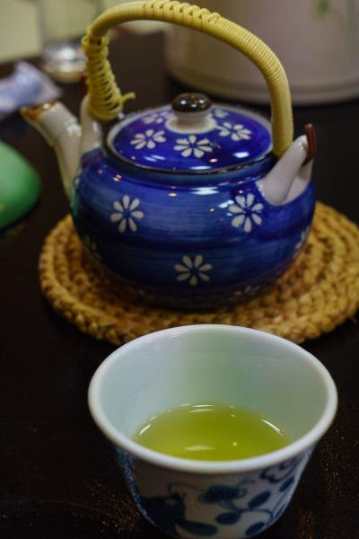 Refreshing green tea