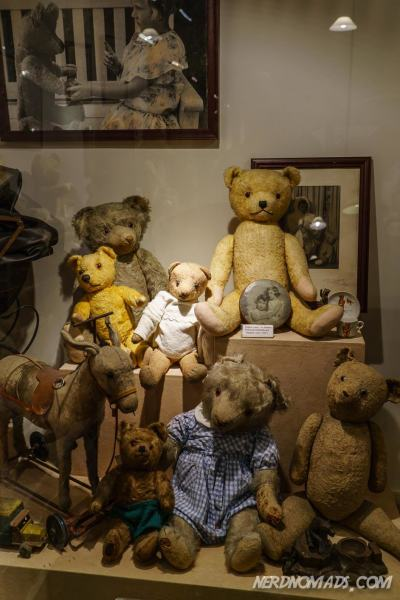 Old teddies