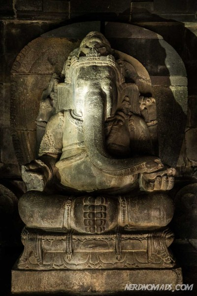 Shiva`s son, the elephant-headed Ganesha