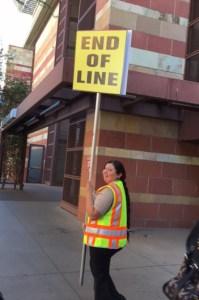 Phoenix Comicon security line