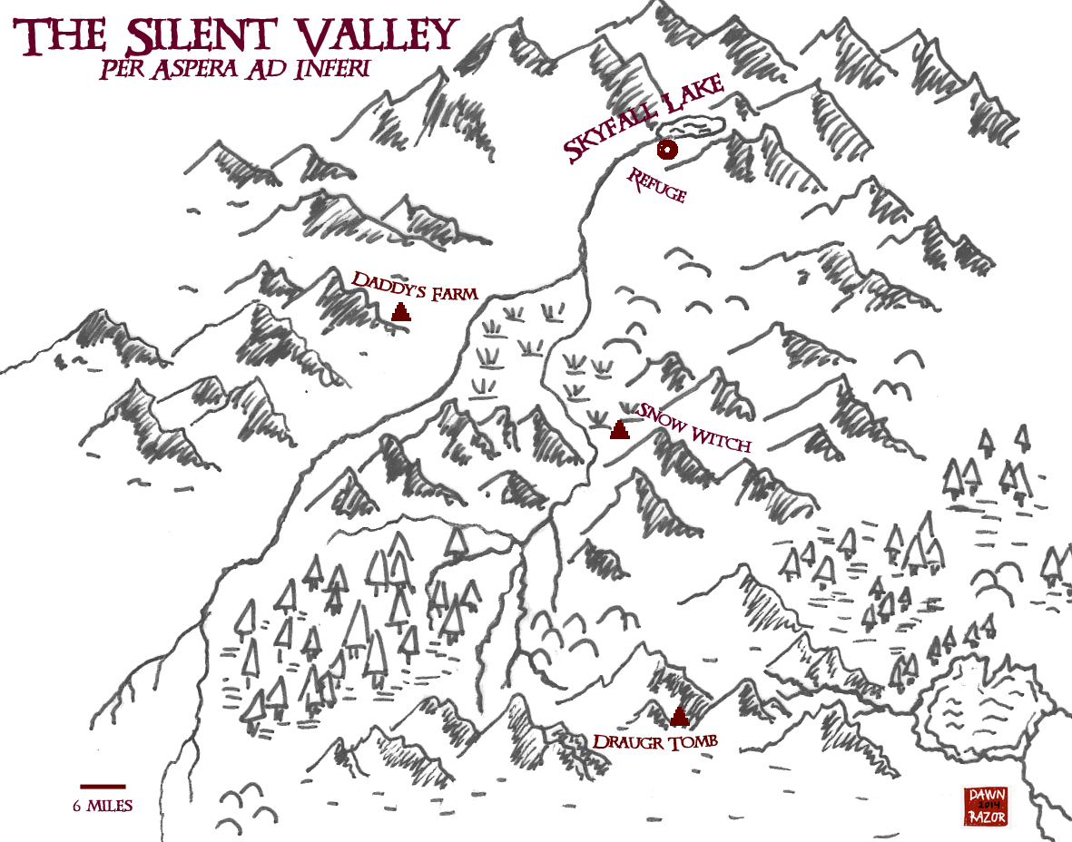 New Map The Silent Valley