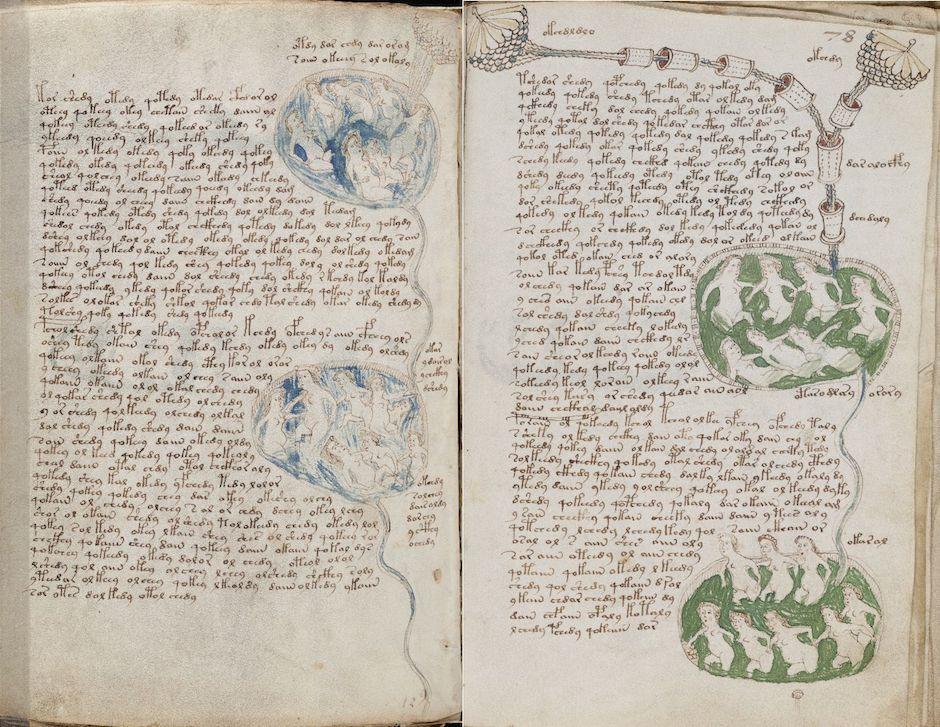Conheça o Manuscrito Voynich o livro que ninguém consegue ler 01