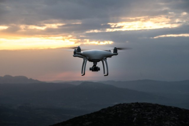 droni cacciati da aquile