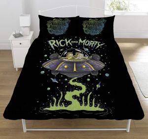 copri piumino rick e morty coperta letto
