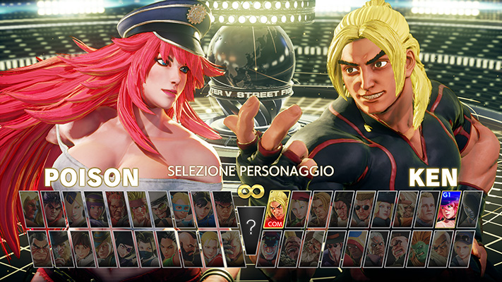 Street Fighter V Champion Edition roster