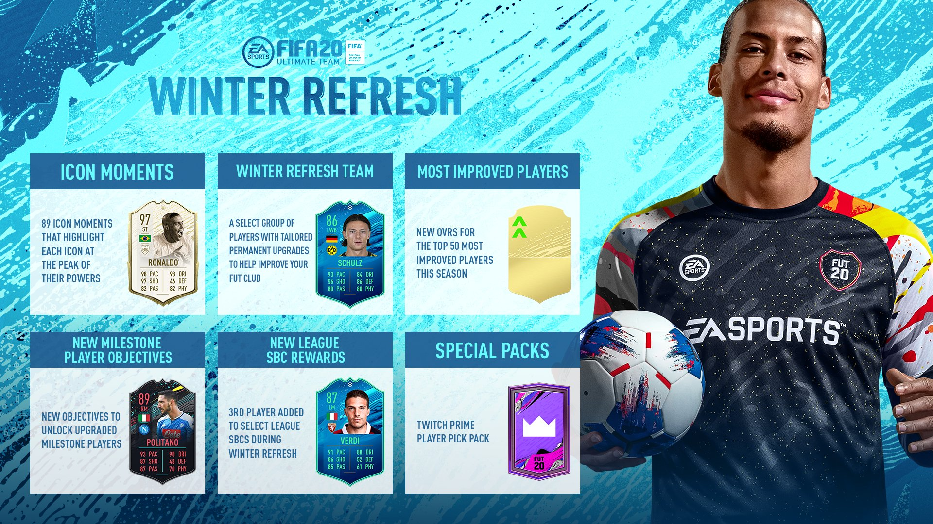 FIFA 20 Ultimate Team Winter Refresh FUT