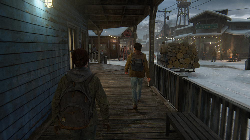 The Last of Us Parte II Jackson