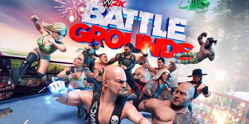WWE 2K Battlegrounds Nintendo