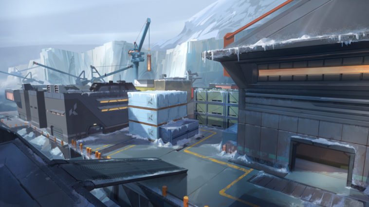 Valorant Icebox nuova mappa competitiva - fps riot games