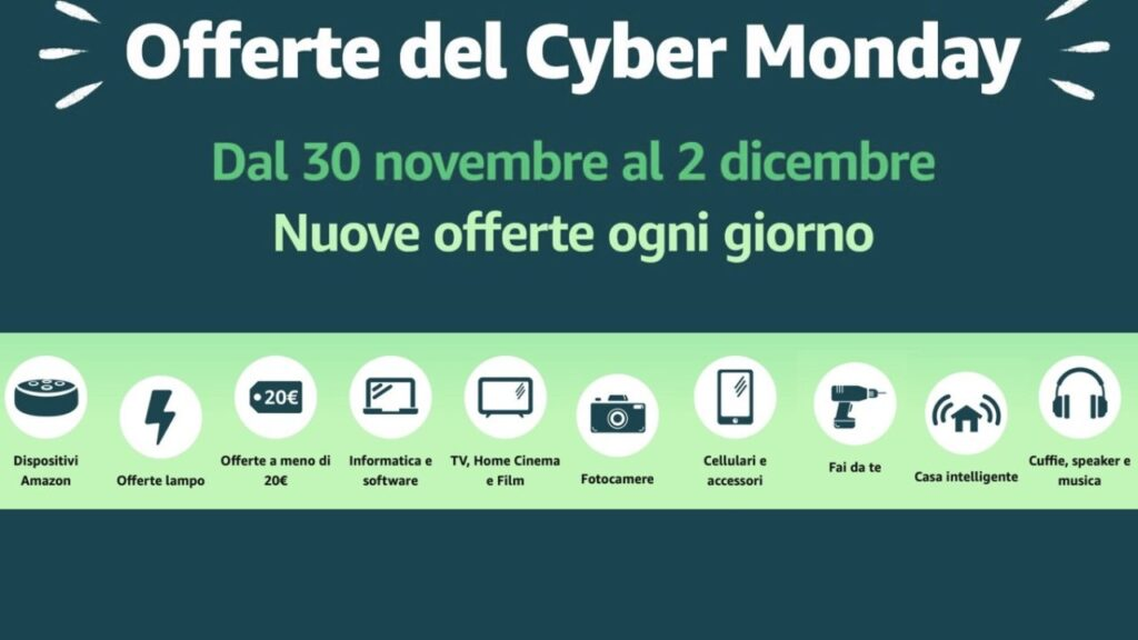Videogiochi Cyber Monday 2020 Amazon - Offerte - Black Friday