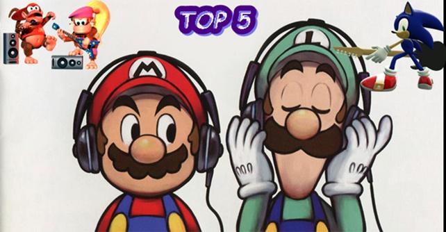 Top 5: As Melhores Músicas nos Games