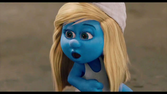 Violent Murderous Oversexualized Smurfette is Offensive?
