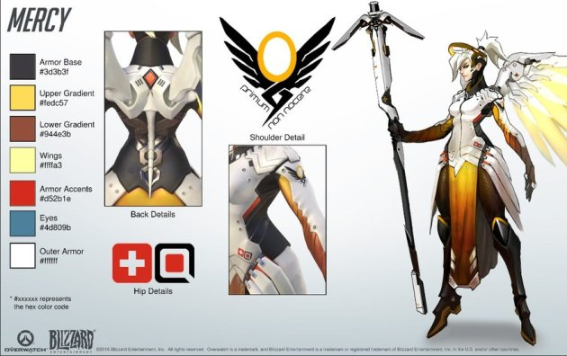 Mercy cosplay guide