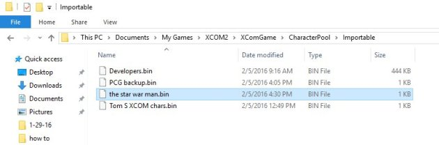 File Location Xcom 2