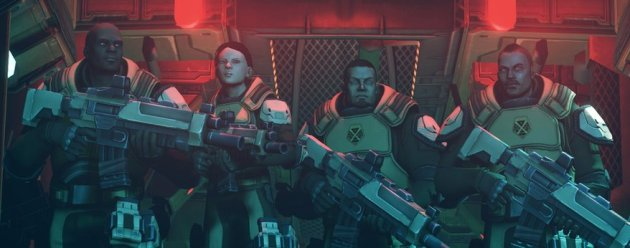 XCOM Enemy Unknown Squad color corrected