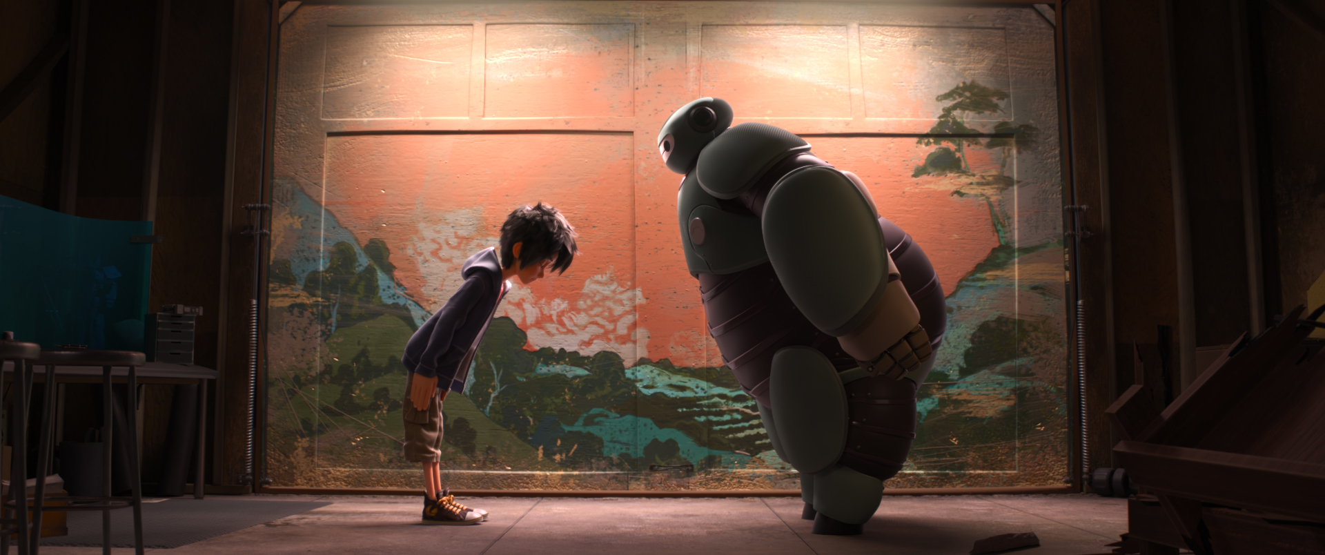 New Trailer For Disney S Big Hero 6
